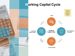 Working Capital Cycle Ppt PowerPoint Presentation Model Icons