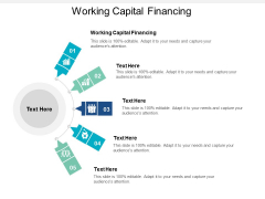 Working Capital Financing Ppt PowerPoint Presentation Portfolio Format Cpb