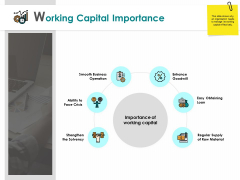 Working Capital Importance Operation Obtaining Ppt PowerPoint Presentation Infographic Template Themes