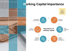 Working Capital Importance Ppt PowerPoint Presentation Layouts Rules