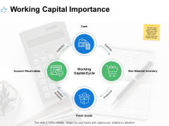 Working Capital Importance Raw Material Ppt PowerPoint Presentation Portfolio Gallery