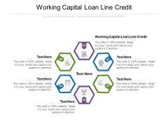 Working Capital Loan Line Credit Ppt PowerPoint Presentation Ideas Graphics Example Cpb