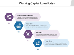 Working Capital Loan Rates Ppt PowerPoint Presentation Gallery Show Cpb