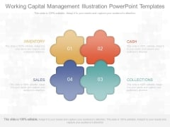 Working Capital Management Illustration Powerpoint Templates