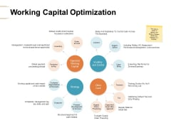 Working Capital Optimization Strategy Ppt PowerPoint Presentation Inspiration Guide