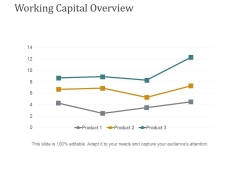 Working Capital Overview Ppt PowerPoint Presentation Ideas Visual Aids