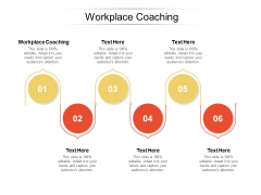 Workplace Coaching Ppt PowerPoint Presentation Model Portrait Cpb