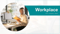 Workplace Depicting Computer Ppt PowerPoint Presentation Complete Deck With Slides