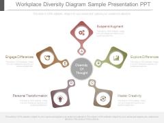 Workplace Diversity Diagram Sample Presentation Ppt