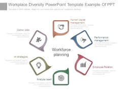 Workplace Diversity Powerpoint Template Example Of Ppt
