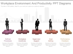 Workplace Environment And Productivity Ppt Diagrams