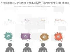 Workplace Monitoring Productivity Powerpoint Slide Ideas
