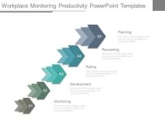 Workplace Monitoring Productivity Powerpoint Templates