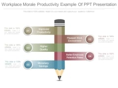 Workplace Morale Productivity Example Of Ppt Presentation
