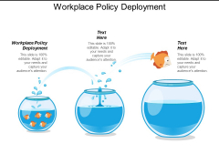 Workplace Policy Deployment Ppt Powerpoint Presentation Portfolio Background Images Cpb