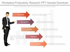 Workplace Productivity Research Ppt Sample Download