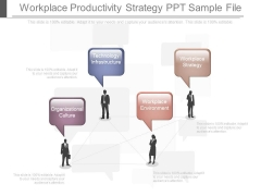 Workplace Productivity Strategy Ppt Sample File