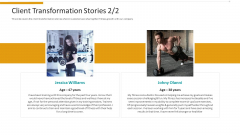 Workplace Wellness Client Transformation Stories Grid Summary PDF