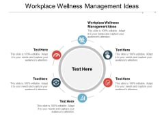 Workplace Wellness Management Ideas Ppt PowerPoint Presentation Infographic Template Design Inspiration