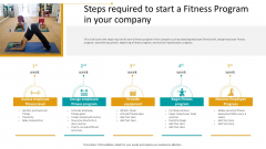 Workplace Wellness Steps Required To Start A Fitness Program In Your Company Portrait PDF