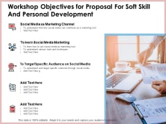 Workshop Objectives For Proposal For Soft Skill And Personal Development Download PDF
