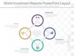 World Investment Reports Powerpoint Layout