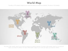 World Map Ppt Slides