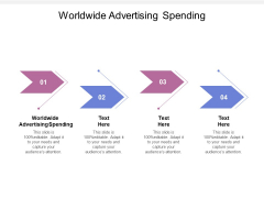 Worldwide Advertising Spending Ppt PowerPoint Presentation Ideas Information Cpb