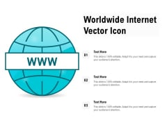 Worldwide Internet Vector Icon Ppt PowerPoint Presentation Pictures Outfit PDF