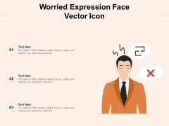 Worried Expression Face Vector Icon Ppt PowerPoint Presentation File Gridlines PDF