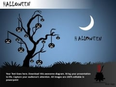 Wallpaper Halloween PowerPoint Slides And Ppt Diagram Templates