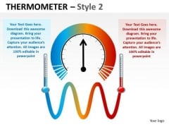 Warm Cold Thermometer Temperature PowerPoint Slides And Ppt Diagram Templates