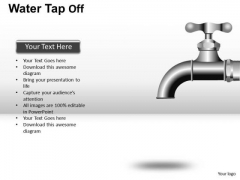 Water Faucet Ppt Graphics Clipart Slides