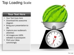 Water Mellon Scale PowerPoint Slides And Ppt Diagram Templates