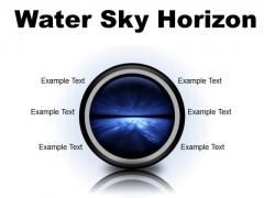 Water Sky Horizon Abstract PowerPoint Presentation Slides Cc