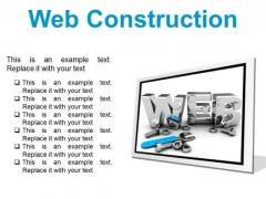 Web Construction Industrial PowerPoint Presentation Slides F