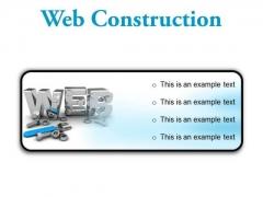 Web Construction Industrial PowerPoint Presentation Slides R