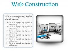 Web Construction Industrial PowerPoint Presentation Slides S