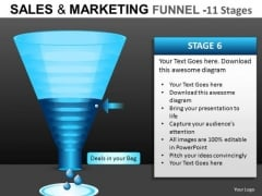 Web Conversion Funnel PowerPoint Slides