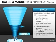 Web Marketing Funnel PowerPoint Templates