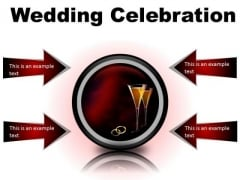 Wedding Celebration Family PowerPoint Presentation Slides Cc