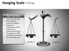 Weighing Scale PowerPoint Clipart Graphics Slides