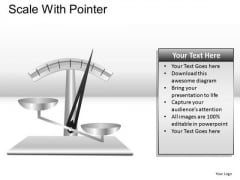 Weighing Scale With Pointer PowerPoint Slides And Ppt Graphics