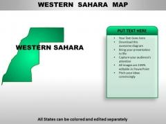 Western Sahara PowerPoint Maps