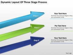 What Is Parallel Processing Dynamic Layout Of Three Stage PowerPoint Slides