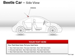 Wheel Red Beetle Car PowerPoint Slides And Ppt Diagram Templates