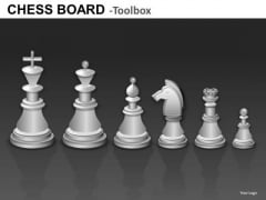 White Chess Pieces Graphics