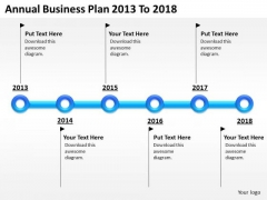 Windows Parallel Processing Business PowerPoint Presentations Plan 2013 To 2018 Slides