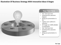 With Innovative Ideas 6 Stages Ppt 1 Free Simple Business Plan Template PowerPoint Templates