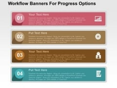 Workflow Banners For Progress Options PowerPoint Templates
